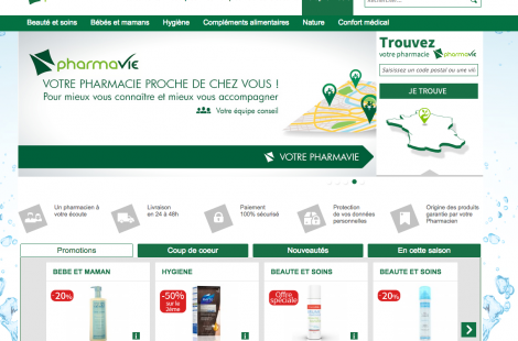 PharmaVie lance son site Internet - 1