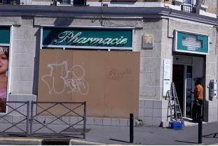 violences pharmacie